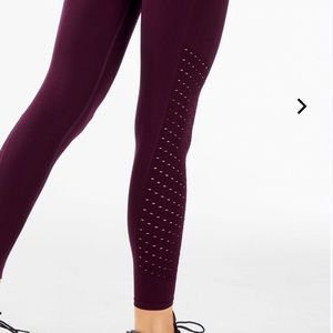 Fabletics Sync perforated legging.